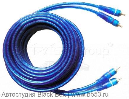 Линейные межблочные провода RCA